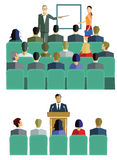 Presentations, lectures or courses Royalty Free Stock Photo