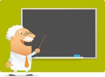 presentationsprofessor Arkivbild