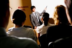Presentazione Fotografia Stock Libera da Diritti
