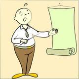 Presentazione illustrazione vettoriale