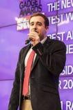 PRESENTAZIONE, CONGRESSO MOBILE 2014 DEL MONDO Fotografie Stock