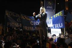 Presentazione dei candidati del Partito nazional-liberale fotografie stock libere da diritti