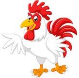 Presentazione del gallo del fumetto Immagini Stock Libere da Diritti