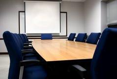 Presentazione della sala del consiglio Immagine Stock
