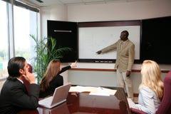 Presentazione della squadra di affari Immagini Stock