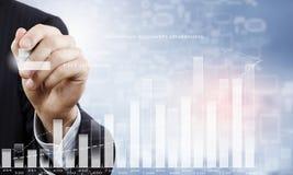 Presentazione della strategia di crescita Fotografia Stock