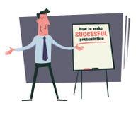 Presentazione di addestramento di affari Immagine Stock Libera da Diritti
