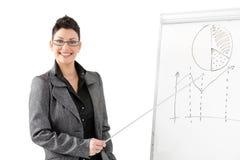 Presentazione di affari Immagini Stock