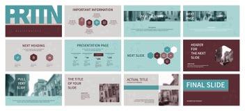 Presentazione di affari illustrazione di stock