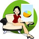 Presentazione di affari royalty illustrazione gratis