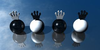 presentazione di marchio 3D Fotografia Stock