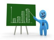 Presentazione di successo Immagine Stock