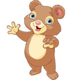 Presentazione di Teddy Bear Illustrazione di Stock
