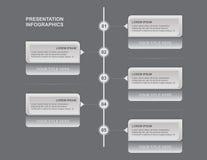 Presentazione Infographics immagine stock libera da diritti