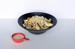 Presentazione tailandese ed italiana continentale asiatica di cucina di diffe immagini stock libere da diritti