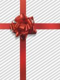 Presente 4 ningunas rayas del gris de la etiqueta Fotos de archivo libres de regalías