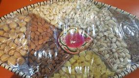 Presente abundante de Diwali para amigos e família fotos de stock