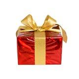 Presente agradable en blanco Fotos de archivo libres de regalías