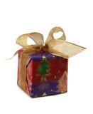 Presente bonito do Natal Imagens de Stock