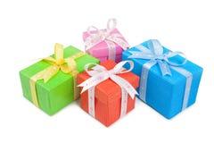 Presente boxes-116 Fotografia de Stock