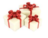 Presente Boxes Imagem de Stock Royalty Free