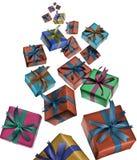 Presente Boxes Imagem de Stock
