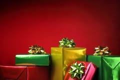 Presente Boxes Fotografia de Stock