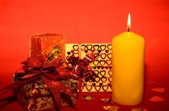 Presente Boxes Fotografia de Stock Royalty Free