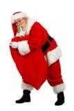 Presente carying della Santa immagine stock libera da diritti