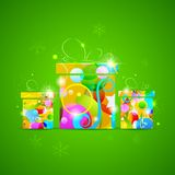 Presente colorido Fotografia de Stock