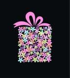 Presente da flor Fotografia de Stock