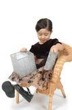 Presente da surpresa para uma criança fotos de stock royalty free