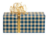 Presente de época natalícia Fotos de Stock Royalty Free