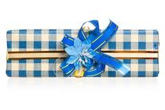 Presente de época natalícia Imagem de Stock Royalty Free