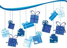 Presente de aniversário Imagem de Stock Royalty Free