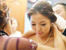 Presente de casamento chinês Imagem de Stock Royalty Free