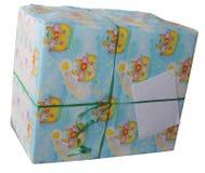Presente de cumpleaños grande Imágenes de archivo libres de regalías