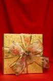 Presente de la Navidad imagen de archivo libre de regalías