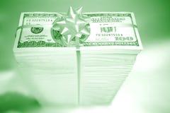 Presente de Monetry Imagens de Stock Royalty Free