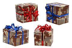 Presente de Natal Fotografia de Stock