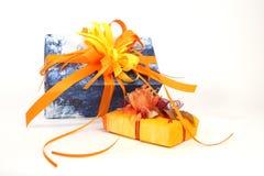 Presente de Natal Imagens de Stock Royalty Free