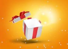 Presente de Natal 3d-illustration ilustração stock