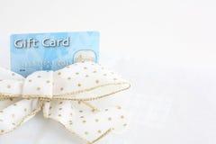 Presente de Natal e cartão do presente Fotografia de Stock