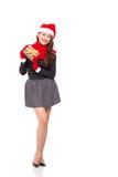 Presente de Navidad Foto de archivo libre de regalías