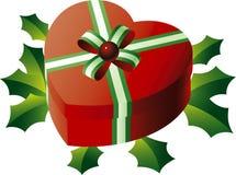 Presente de Navidad del vector Fotografía de archivo