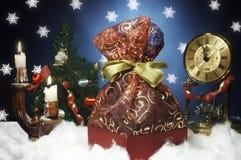 presente de Novo-ano imagens de stock