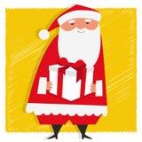 Presente de Santa ilustração royalty free