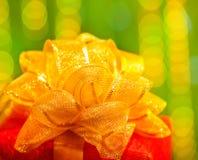 Presente del Año Nuevo Fotos de archivo libres de regalías