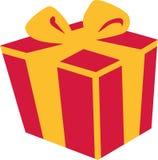 Presente del contenitore di regalo illustrazione vettoriale