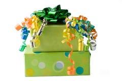 Presente di compleanno fotografia stock